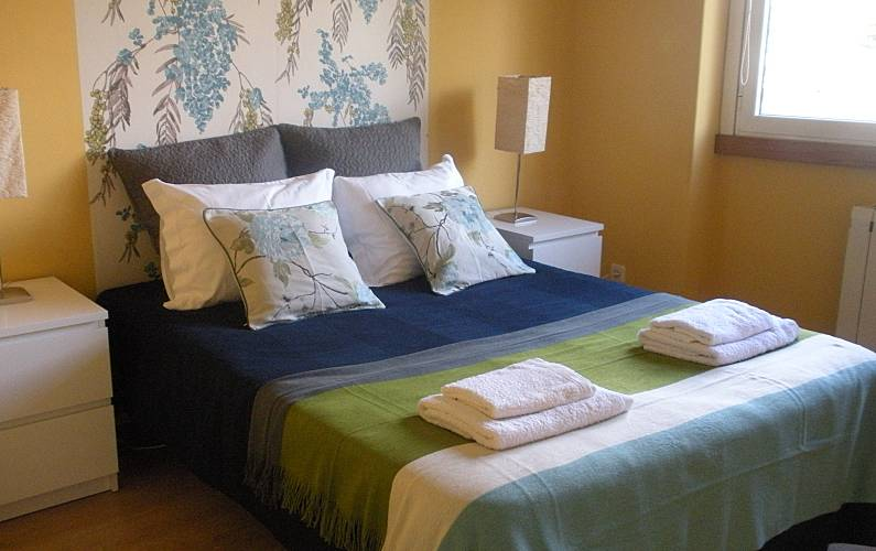 Apartment with 2 bedrooms only 250 meters from the beach Lisbon - Bedroom