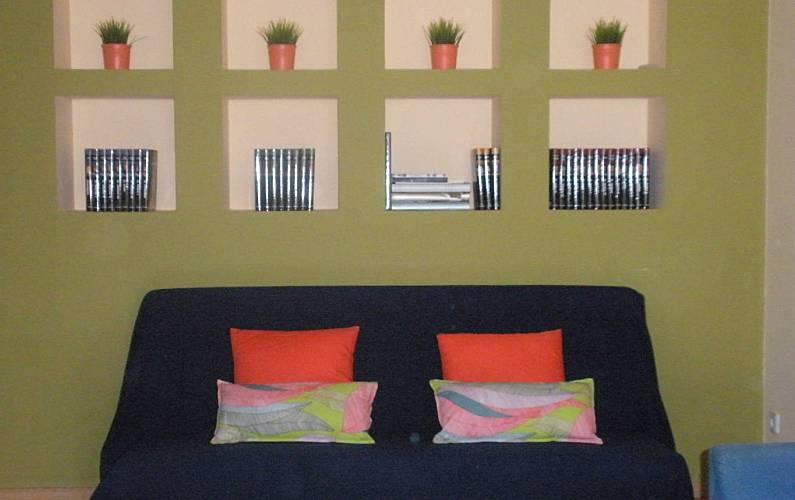Apartment Living-room Lisbon Cascais Apartment - Living-room