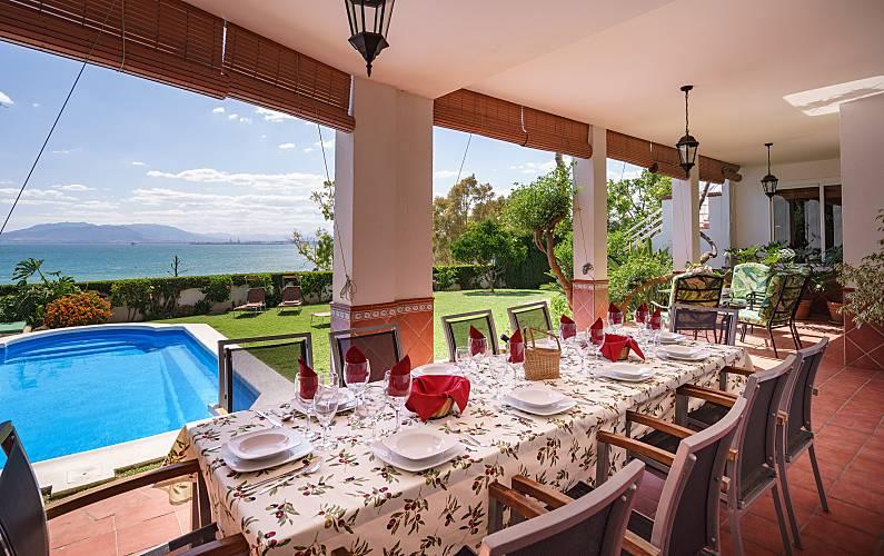 Splendid Villa over the Bay of Málaga Málaga - Garden