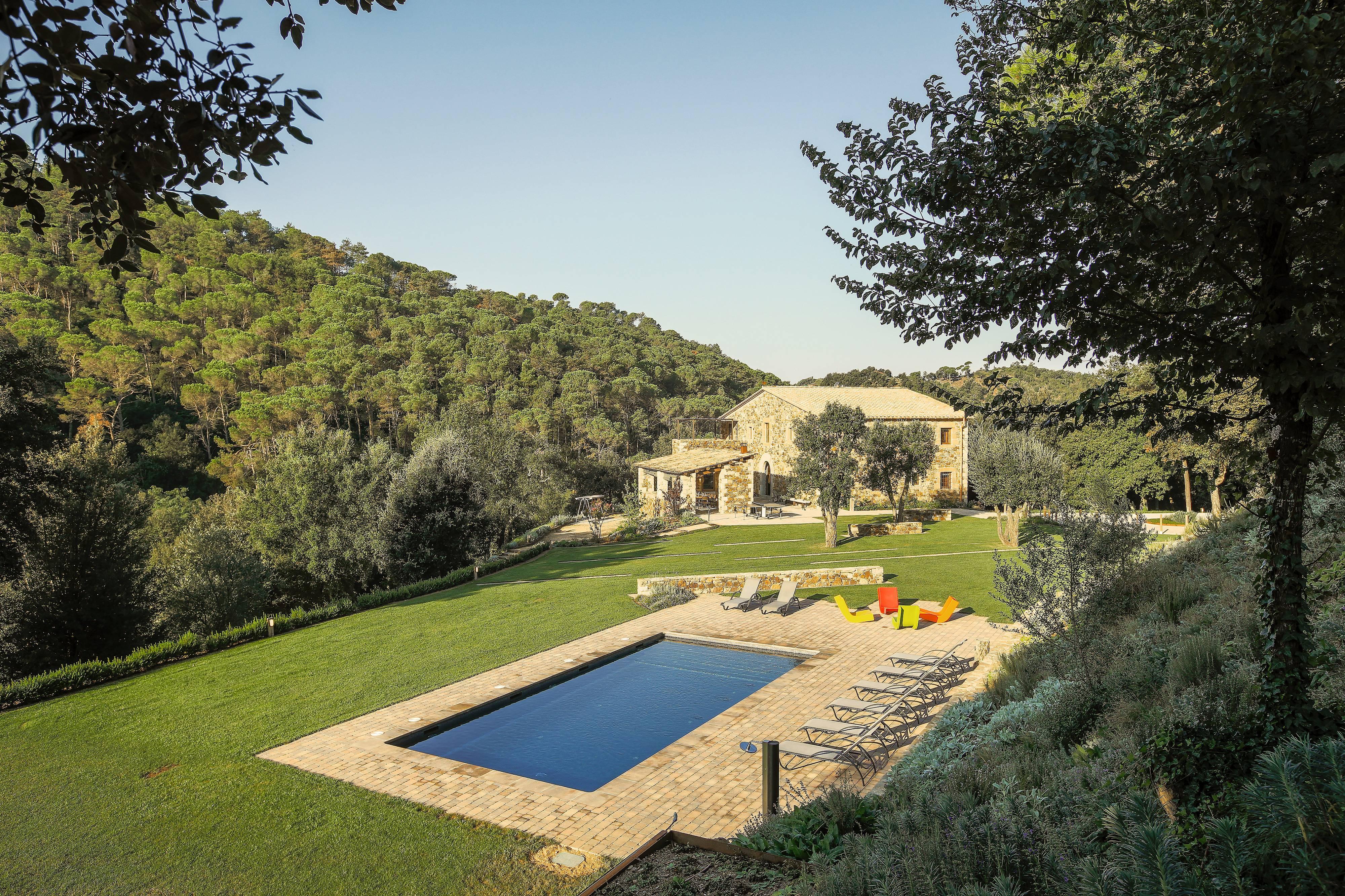 Meuble Salle De Bain Girona luxueuse villa avec 7 chambres à girona - sant daniel