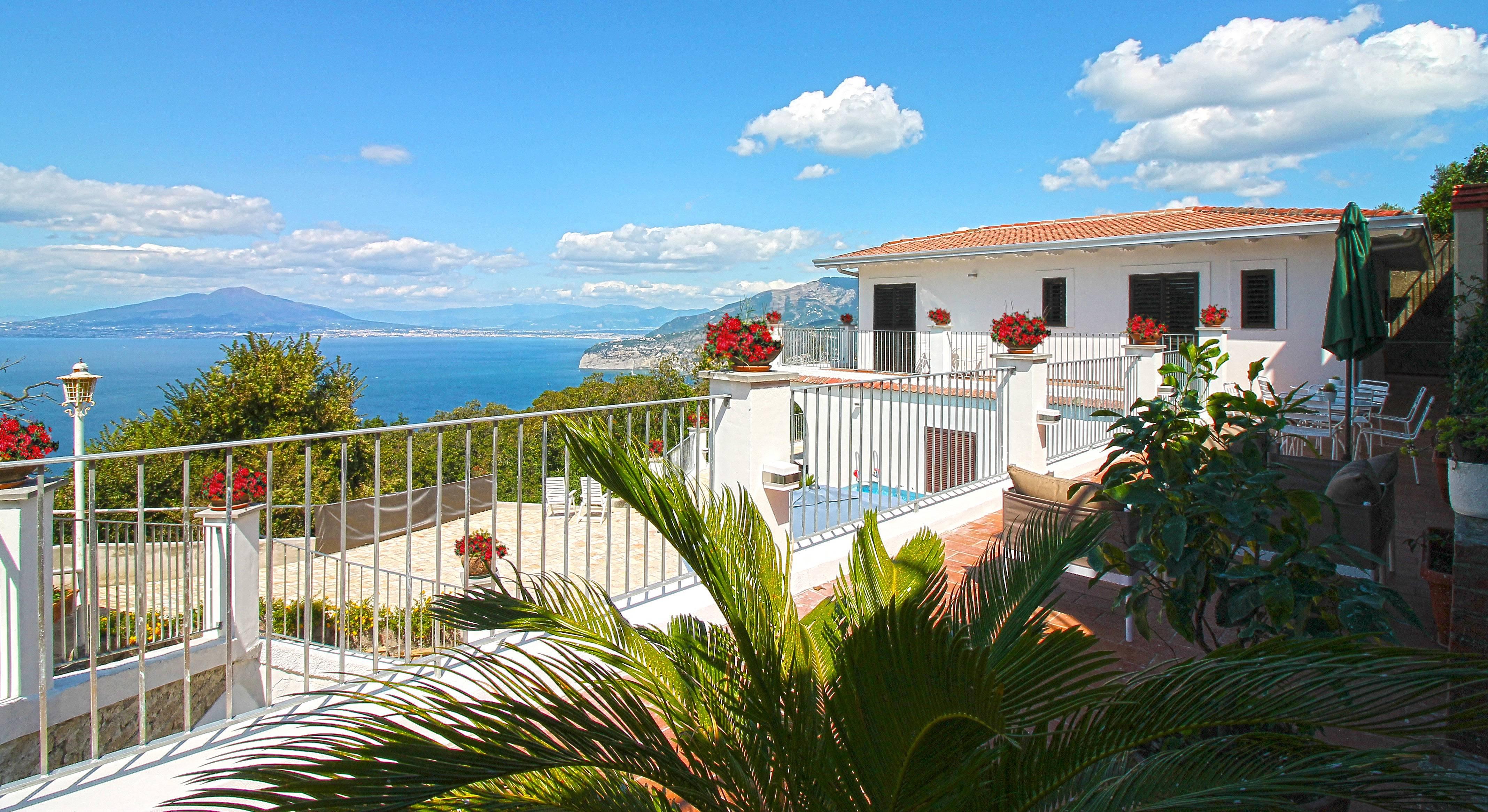 Villa Con Panorama Mozzafiato Sant Agata Sui Due Golfi