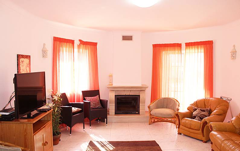 Very Living-room Algarve-Faro Lagos villa - Living-room