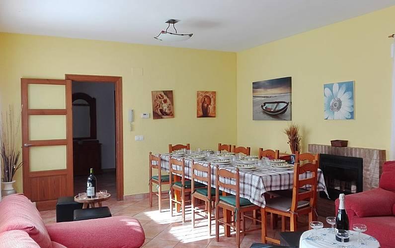 Vivenda Sala de Jantar Valência Chiva Villa rural - Sala de Jantar