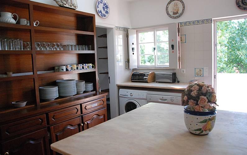 Traditional Kitchen Algarve-Faro Lagos villa - Kitchen