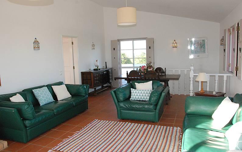 Traditional Living-room Algarve-Faro Lagos villa - Living-room