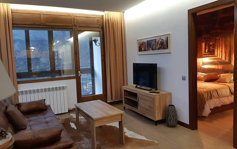 Apartment for rent Pal Arinsal - Living-room