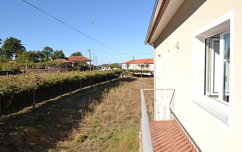Bonita Vistas da casa Viana do Castelo Paredes de Coura Villa rural - Vistas da casa