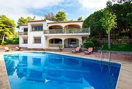 Alquiler de casas vacacionales en j vea x bia alicante rurales chalets bungalows - Casas de vacaciones en alicante ...