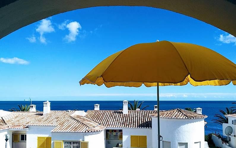 Casa com 2 quartos em frente à praia Algarve-Faro - Terraço
