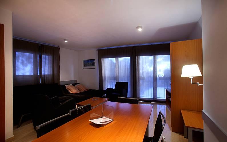 7 Dining-room Ordino Apartment - Dining-room