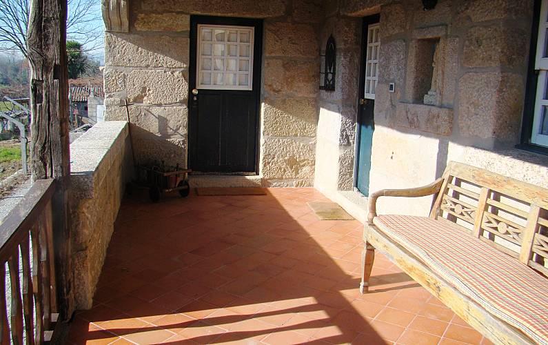 Casa Terraço Braga Fafe Casa rural - Terraço