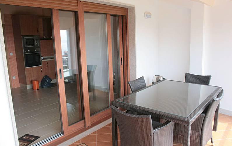 Nova Terraço Pontevedra Cangas casa - Terraço