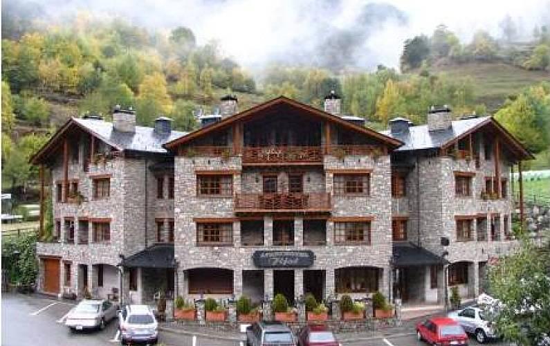 13 Apartamentos na montanha com lareira -