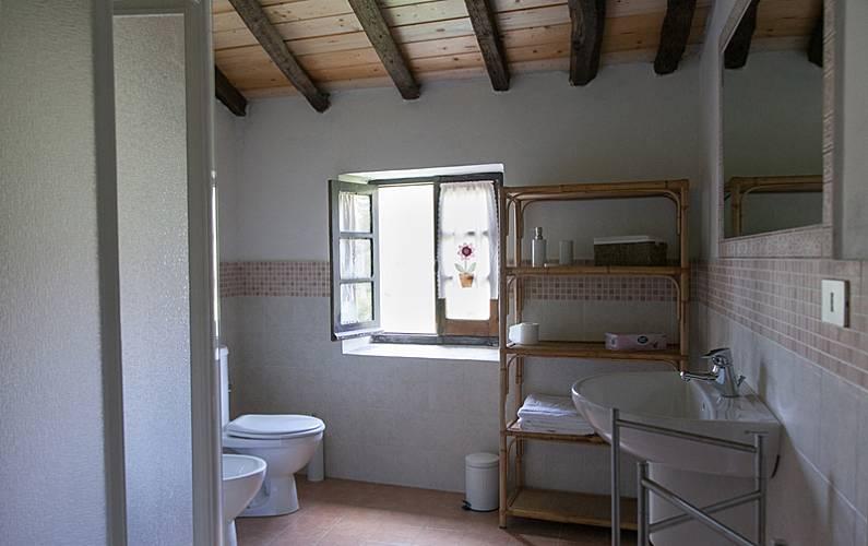 4 Casa-de-banho Spezia Vezzano Ligure Casa rural - Casa-de-banho