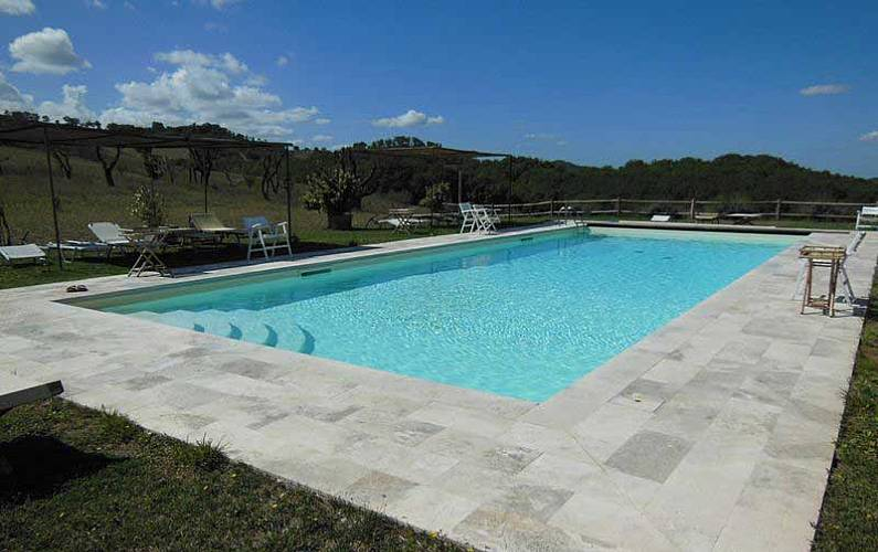 Casale Swimming pool Siena Casole d'Elsa Apartment - Swimming pool