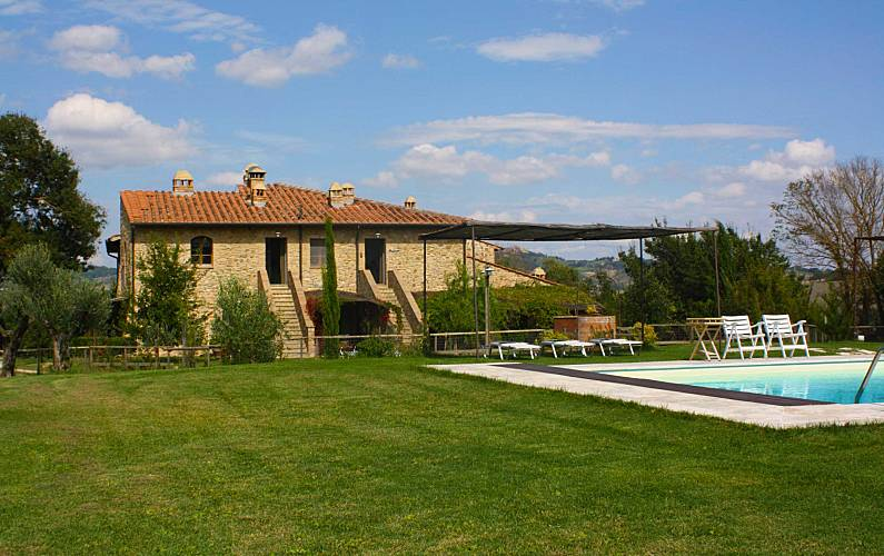 Casale Outdoors Siena Casole d'Elsa Apartment - Outdoors