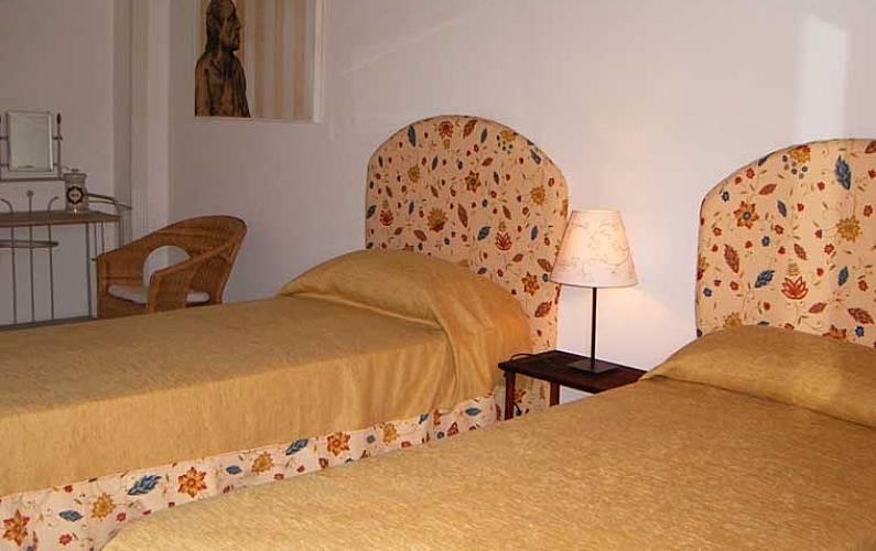 Casale Bedroom Siena Casole d'Elsa Apartment - Bedroom