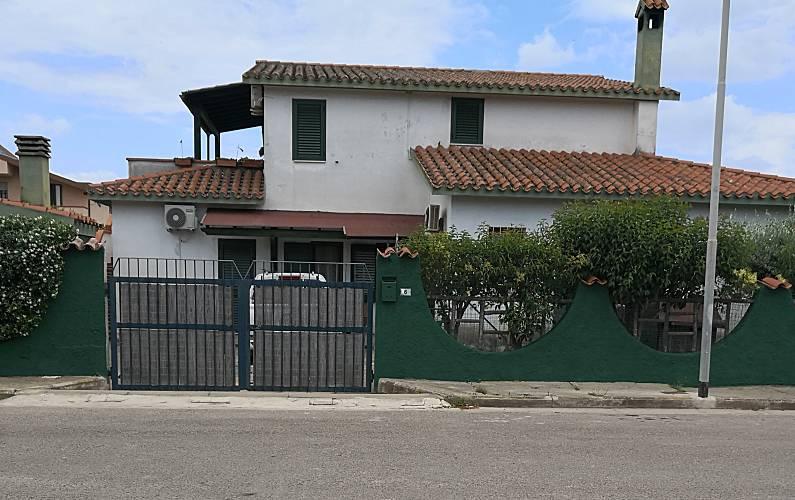 Villa Parte esterna della casa Cagliari Capoterra villa - Parte esterna della casa