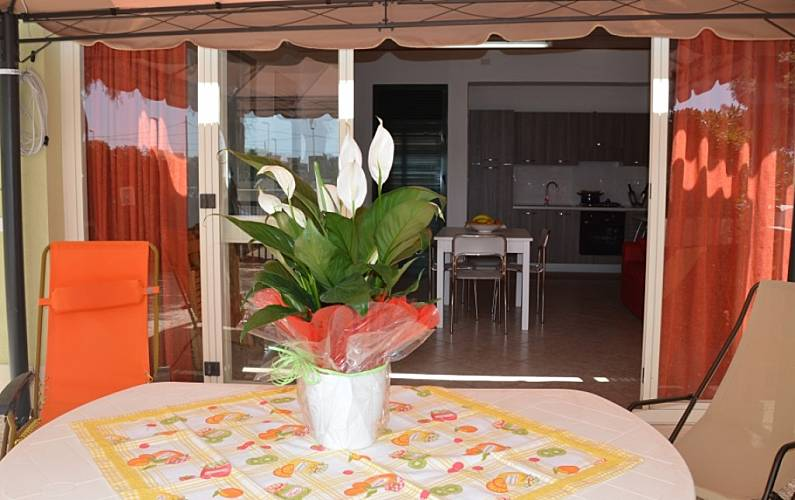 Villa for 2-10 people only 500 meters from the beach Trapani - Terrace