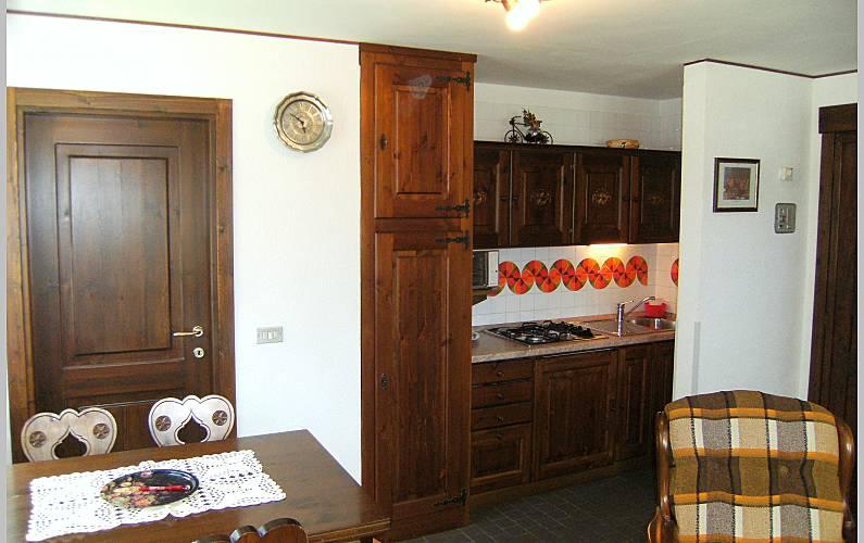 Studio Kitchen Aosta Valtournenche Apartment - Kitchen