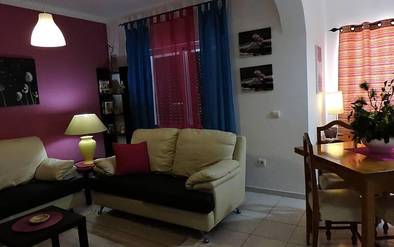 4 Living-room Algarve-Faro Albufeira Apartment - Living-room