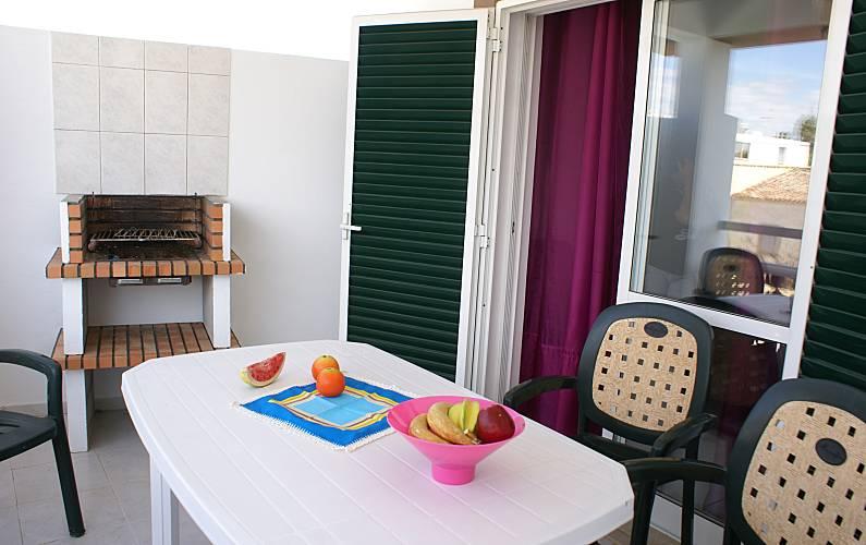 4 Terrace Algarve-Faro Albufeira Apartment - Terrace