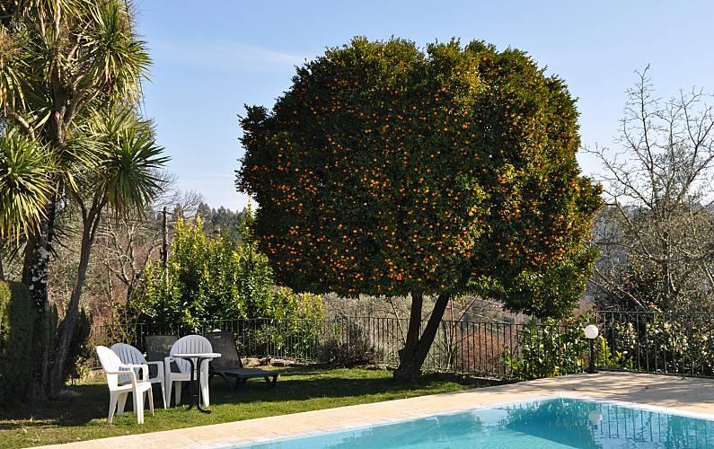 t 3 pessoas com piscina privada Braga - Piscina