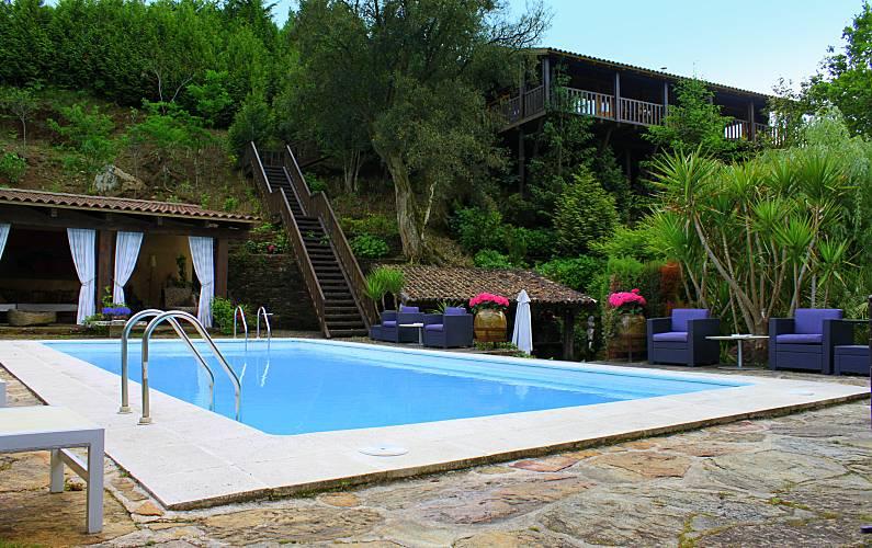 Casas da Azenha - 7 km da praia , junto ao rio Viana do Castelo - Vistas da casa