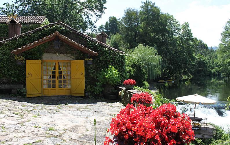 Casas Exterior da casa Viana do Castelo Vila Nova de Cerveira casa - Exterior da casa