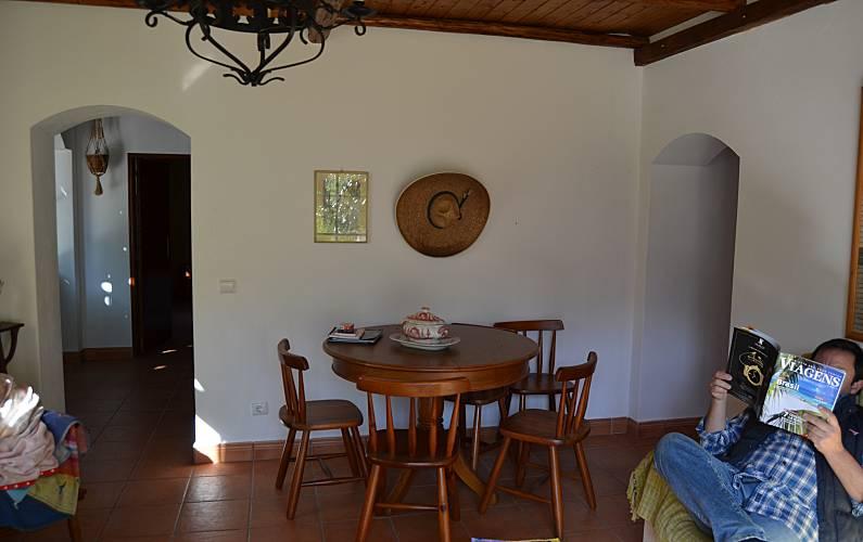 2 Dining-room Algarve-Faro Silves villa - Dining-room