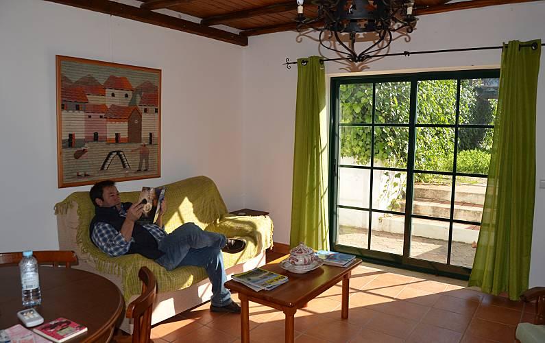 2 Living-room Algarve-Faro Silves villa - Living-room
