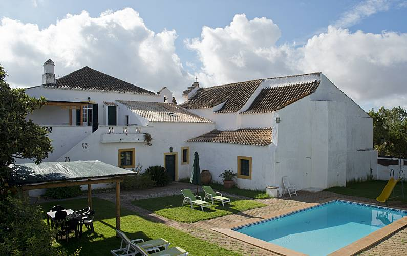 2 Houses 8.5 km from the beach Algarve-Faro - Outdoors