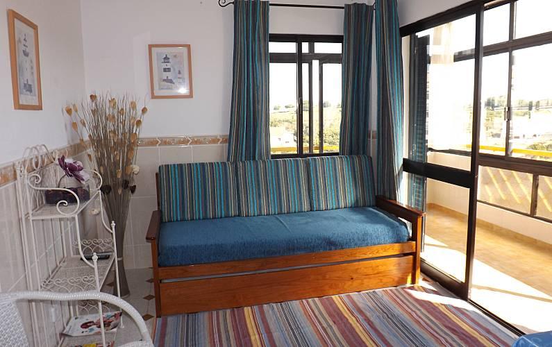 2 Living-room Algarve-Faro Albufeira Apartment - Living-room