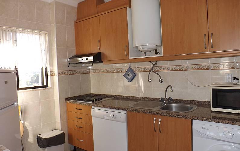 2 Kitchen Algarve-Faro Albufeira Apartment - Kitchen