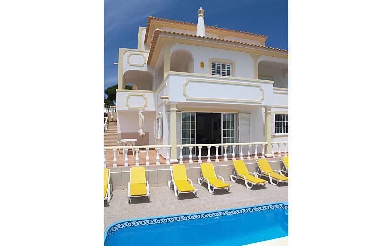 Villa - 4 bedr + 1 apt (2-14), pool, beach Algarve-Faro - Swimming pool