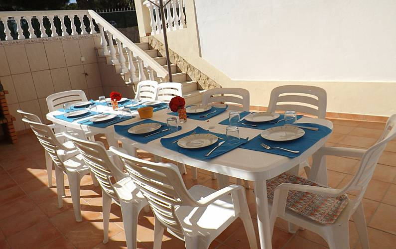 Villa Terrace Algarve-Faro Albufeira villa - Terrace