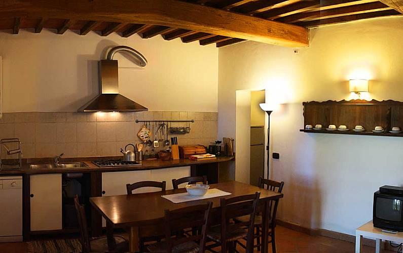 Casale Cozinha Sena Casole d'Elsa Apartamento - Cozinha