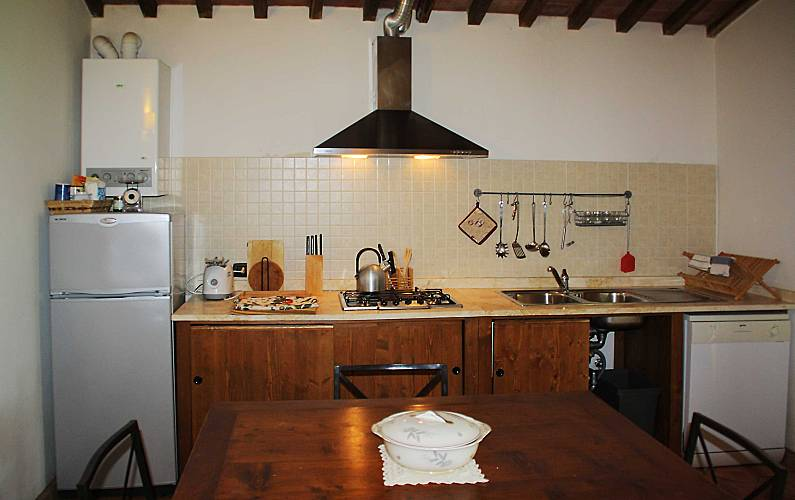 Casale Dining-room Siena Casole d'Elsa Apartment - Dining-room
