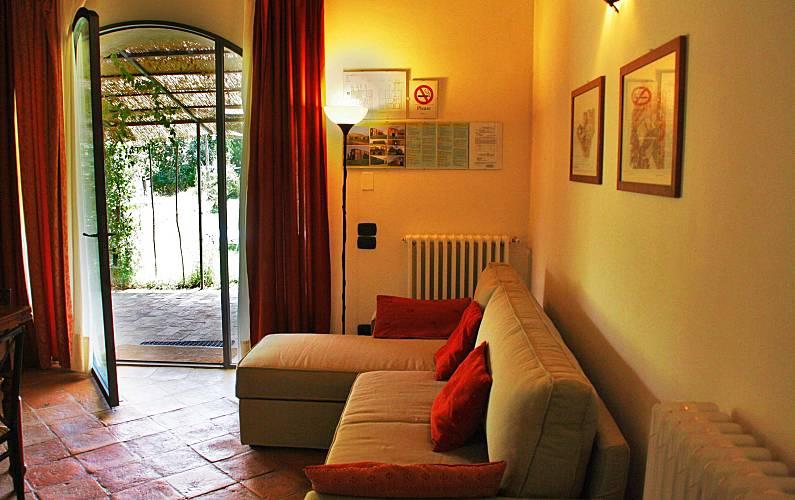 Casale Living-room Siena Casole d'Elsa Apartment - Living-room