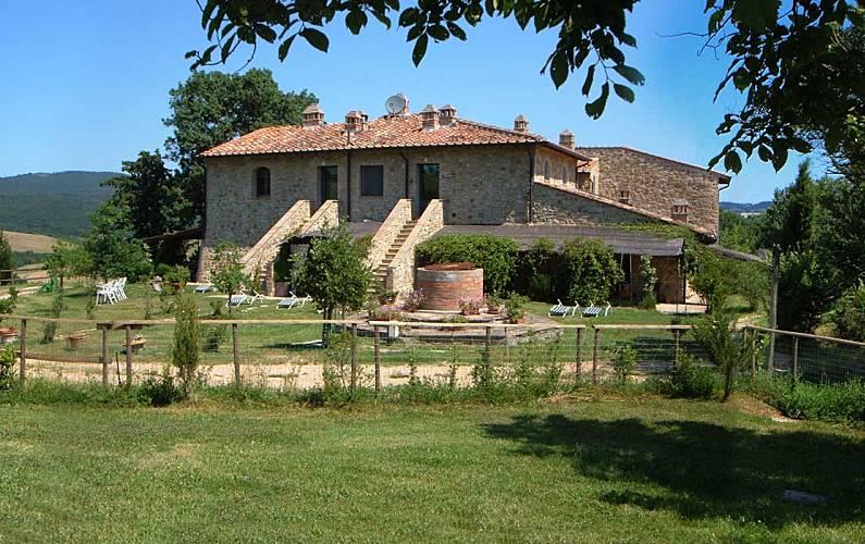 Casale Terrace Siena Casole d'Elsa Apartment - Terrace
