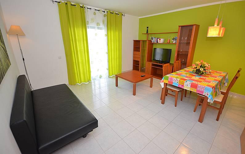 6 Beautiful Apartments w/pool + WIFI - Albufeira Algarve-Faro - Living-room