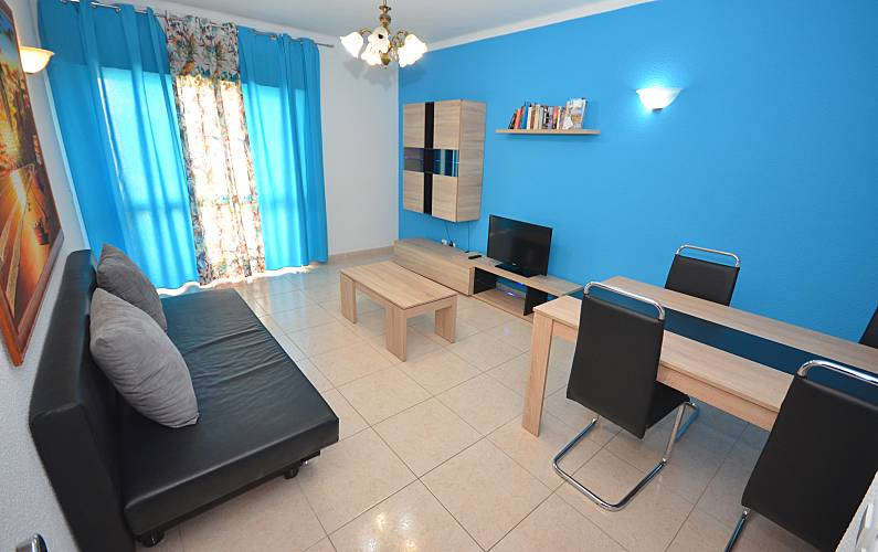 Apartamento c/ piscina + WIFI - Albufeira (H) Algarve-Faro - Sala