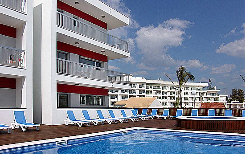 10 Apartments only 150 meters from the beach Algarve-Faro - Swimming pool