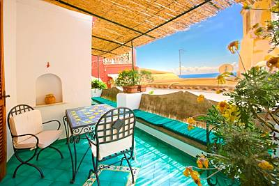 Apartamento de 2 habitaciones a 500 m de la playa Salerno