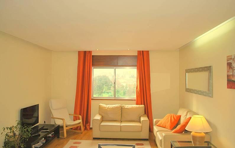 NiceView Living-room Porto Vila Nova de Gaia Apartment - Living-room