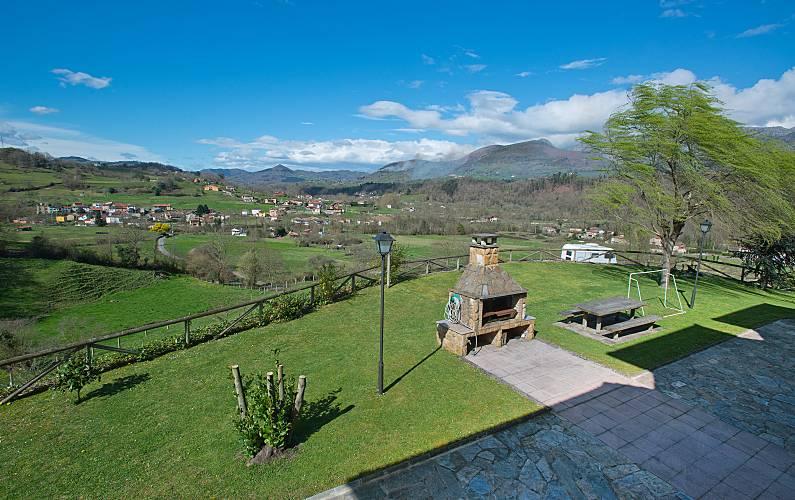 Casa Vistas da casa Astúrias Piloña Villa rural - Vistas da casa