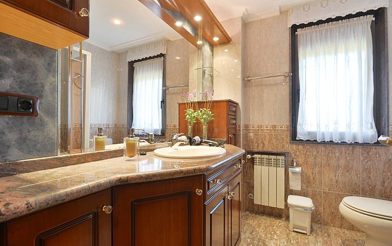 Casa Casa-de-banho Astúrias Piloña Villa rural - Casa-de-banho