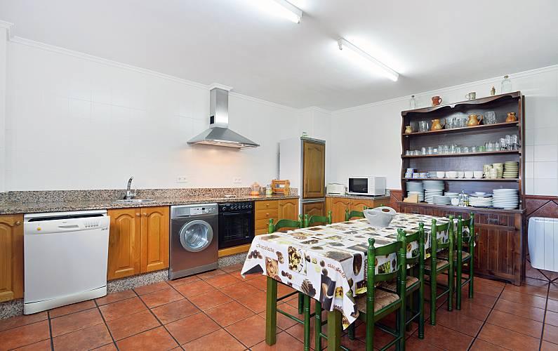Casa Cozinha Astúrias Piloña Villa rural - Cozinha