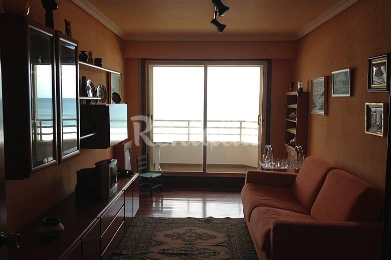 Apartamento de 2 habitaciones en 1a l nea de playa - Apartamentos en zarauz ...