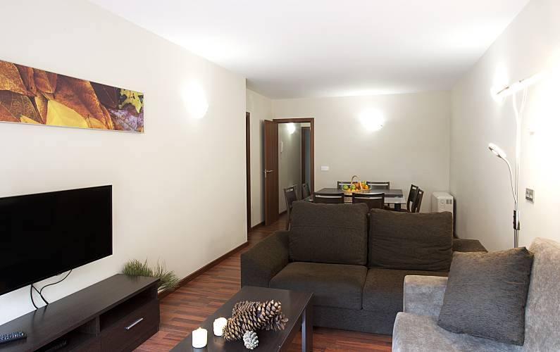 Apartment with 3 bedrooms (8pax) -